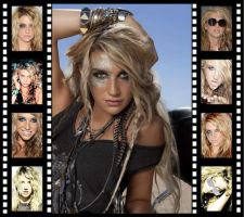 Ke$ha Filmstrip by Mistify24