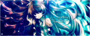 Anime girl by Nushulica