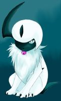 Fluffy the Absol by Urasue14