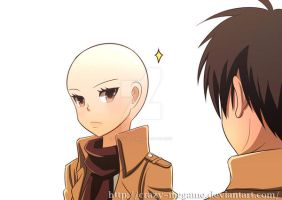 Attack Of Titan Ep3: A hair cut by Crazy-megame