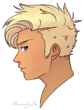 Random Blonde Dude by managlyph