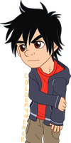 Chibi Commission: Anonymous (Hiro) by ColorMyMemory