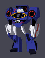 Soundwave REDESIGN by LyricaBelachium
