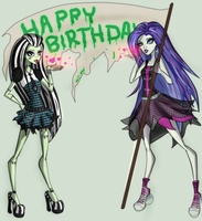 Happy Birthday by ectosaur