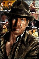 Indiana Jones by Lannytorres