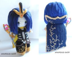 Amigurumi League of Legends: Leblanc by Xaxipidudi