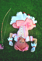 Madoka, Sleeping beauty by LaurelinAureo
