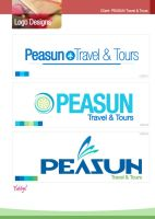 Peasun Logo Sampling by yubby