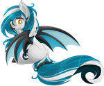 Water bat pony [AUCTION] paypal/points [CLOSED] by BlackFreya