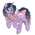 Evening Party Pony  Auction  (OPEN) by Crystal-Comb