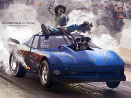 Chevy Drag by PSA by photoshoparte