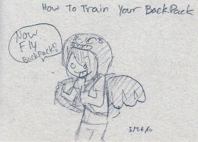 How To Train Your Backpack by sailor663
