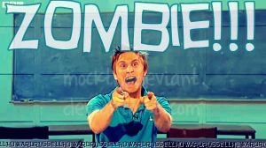 Russell Howard.. ZOMBIE by mockthedeviant