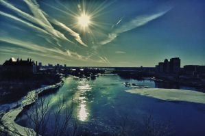 Frozen River by RavenGraphics