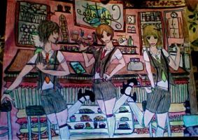 the sexy bartenders and the cafe/bar thing! by Canada960