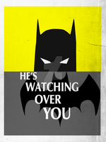 Batman is Watching Over You by Kit-C