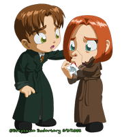 X-Files: Nosebleeds suck by LuLuLunaBuna