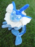 Fully Jointed Vaporeon plush by angelberries