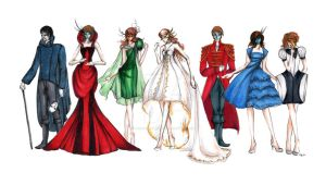 Ignus Fatuus - Line up Concept by momoiro-machiko