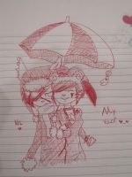 ...:::Want my umbrella?:::... by MelowJuice