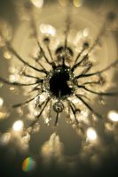 Crystal Chandelier Lensbaby IV by LDFranklin
