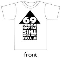 69 shirt design by fastworks