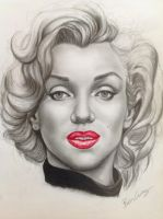 Marilyn Monroe by bengray94
