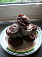 Chocolate Marshmallow Muffins by victorymon