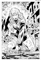 Red Sonja#10 Page 02 by wgpencil