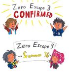 ZERO ESCAPE 3 CONFIRMED by SonicFan3