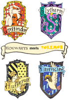 Hogwarts meets Pokemon by TheSmilingFish
