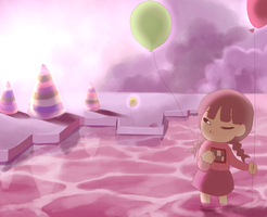 Yume Nikki the anime by NightMargin