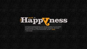 Because Happyness Matters by munchinees