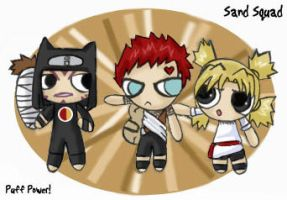 Sand Squad - PUFFED by -babykefka-