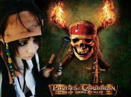Self-portrait - Jack Sparrow2 by Emma-in-candyland