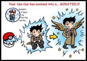 SPN SPOILERS Pokemon Evolution by blackbirdrose