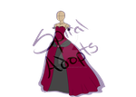 Dress Adoptable (Closed) by X-SpiralAdopts-X