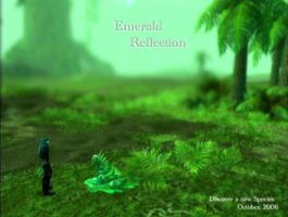Emerald Reflection by Sketchy-Stories