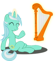 Playing Lyra by lKittyTaill