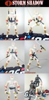 Custom GI Joe Storm Shadow by KyleRobinsonCustoms