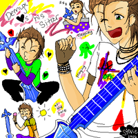 Demyx hearts his sitar by TheCandyRobot