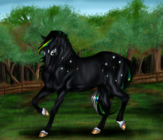 GG Dire Wolf 082 SOLD by Leigh-Fleur