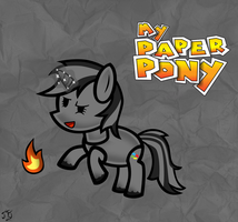Paper Pony Piptony by MLP-Scribbles