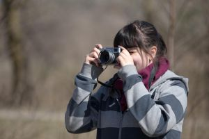 Woman photographer by BIREL