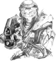 Master Chief by metalliphil