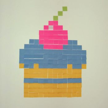 Paper Cupcake by helenabello