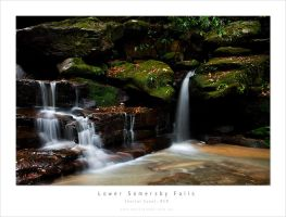 Lower Somersby Falls Close Up by MattLauder