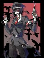 ::Black birds:: by rann-poisoncage