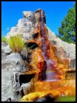 Memphis Zoo Waterfall by SalemCat