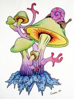 Shrooms by SyntheticScars